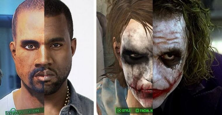 Celebrity faces fallout 3