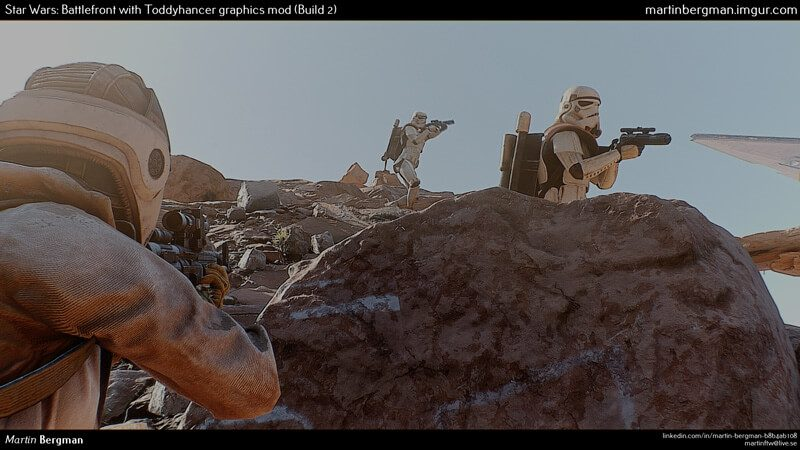 Star Wars: Battlefront Graphics Mod Makes It Look Like