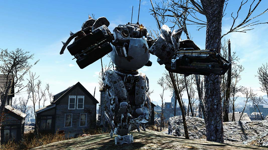 Butler Auto Parts >> Fallout 4: Players Are Turning Codsworth Into A Monster Thanks To Automatron DLC