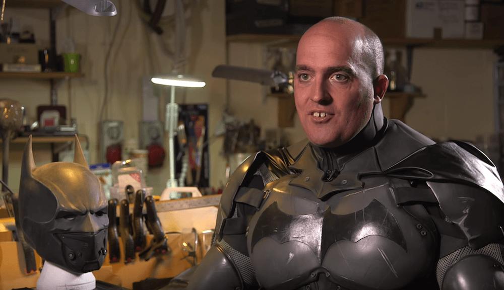 Goofy Irish Dude Built Real Life Functioning Batman Suit
