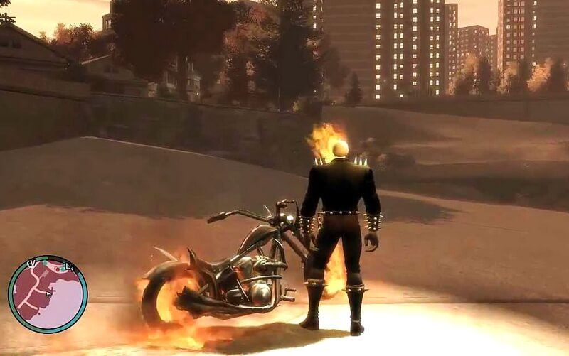 You can now play as Ghost Rider in GTA V