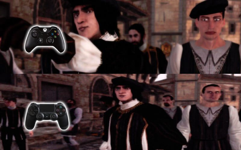 Turns Out Assassin S Creed Ii Remaster Isn T As Ugly On Ps4 As It Is On The Xbox One