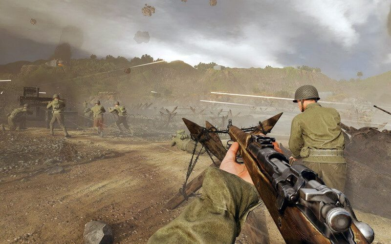 This World War II videogame is promising 100 player online