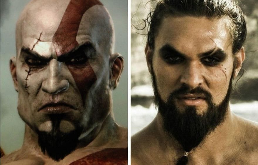 Image result for jason momoa as kratos